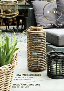 Brochure Rattan Collection